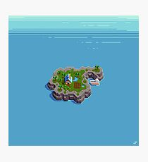 Cozy Island Photographic Print