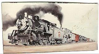Locomotive by dummy