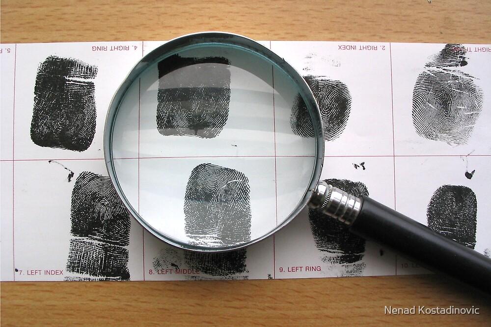 CSI fingerprints examination by Nenad Kostadinovic