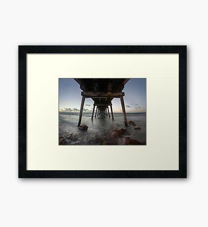 Port Hughes Jetty Framed Print