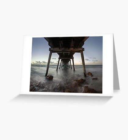 Port Hughes Jetty Greeting Card