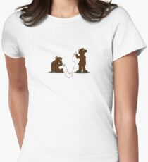 I gotta tell you a secret... Women's Fitted T-Shirt