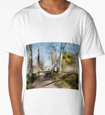 ...Outskirts of a small town... Long T-Shirt