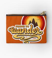 Prone to Wander (Wanderlust, Wanderer) Studio Pouch