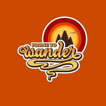 Propenso a vagar (Wanderlust, Wanderer) de amandaweedmark