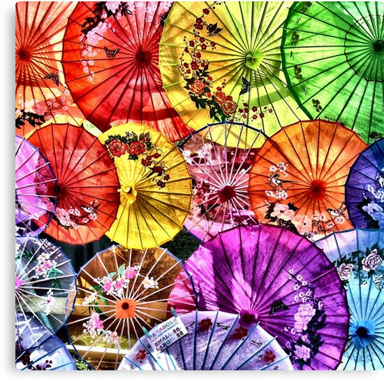 Parasols by Paul Louis Villani