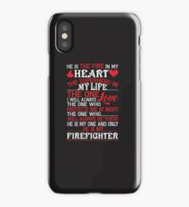 He Is Firefighter T Shirt iPhone Case