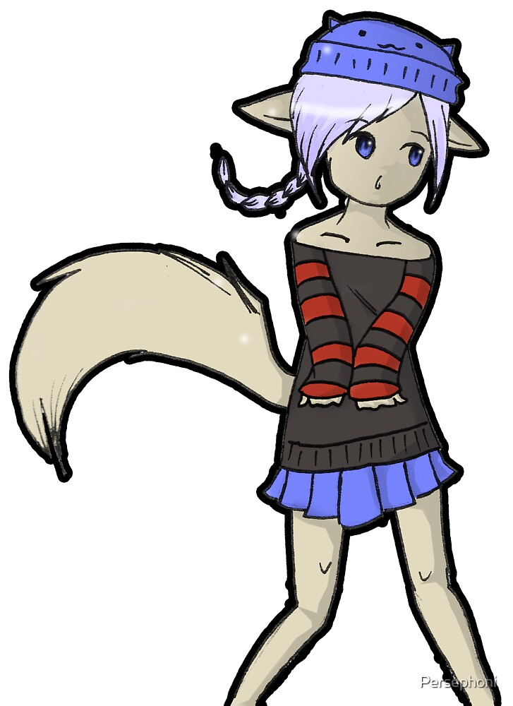 OC - Kailey (OC= Original Character) by Persephoni