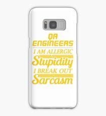 qa engineers Samsung Galaxy Case/Skin