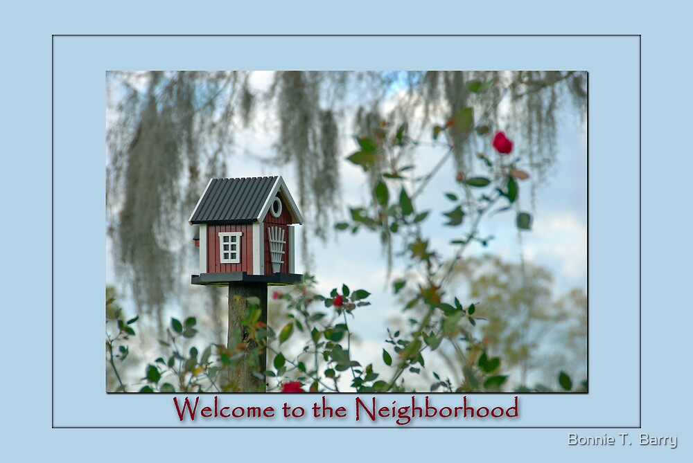 Welcome to the Neighborhood by Bonnie T.  Barry