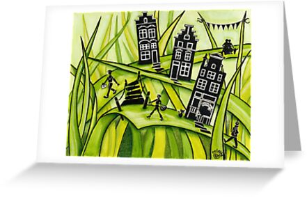 THE GREEN GRASS OF HOME #2 by Colette van der Wal
