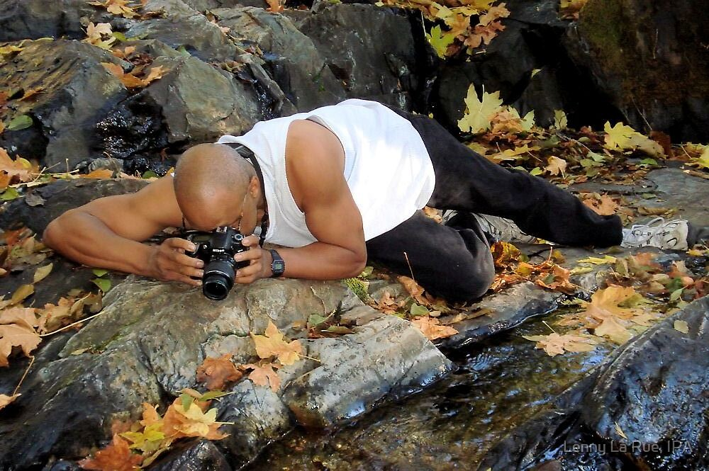 Lenny On The Bear River (Not My Photography) by Lenny La Rue, IPA