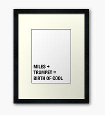 Davis Framed Print
