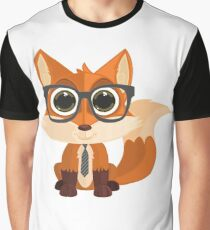 Fox Nerd Graphic T-Shirt