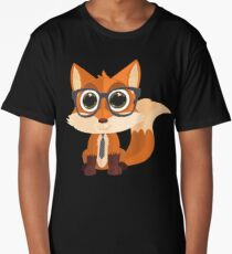 Fox Nerd Long T-Shirt
