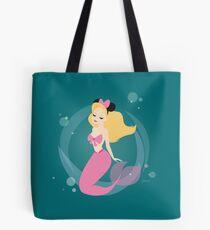 Fantasy Land Mermaid Tote Bag