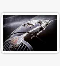 1964 Jaguar MK2 Saloon Hood Ornament and Emblem -1421ac Sticker
