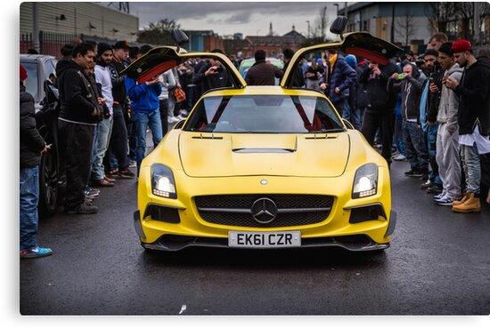 Mercedes SLS AMG  by RossJukesAuto