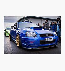 Subaru WRC Photographic Print