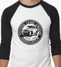 Toyota Land Cruiser ASSC BLK Men's Baseball ¾ T-Shirt
