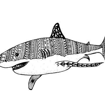 White Shark by ivysanchez