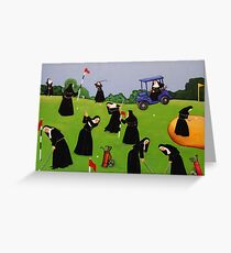 Fairway to Heaven Greeting Card