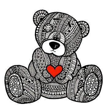 Love Teddy Bear by ivysanchez