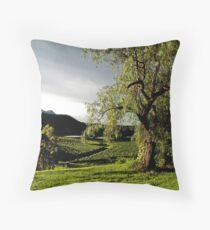 After the Storm # 2 - Audrey Wilkinson Vineyard - Hunter Valley, Australia Throw Pillow