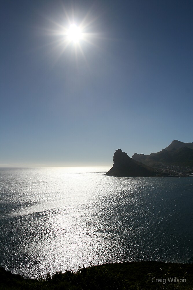 The Sun from Chapmans Peak by Craig Wilson