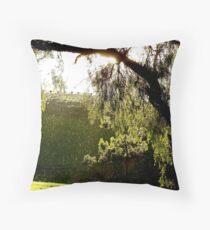 After the Storm # 3 - Audrey Wilkinson Vineyard - Hunter Valley, Australia Throw Pillow