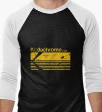 Camiseta ¾ bicolor para hombre KODACHROME