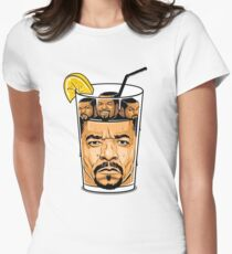 Ice T & Ice Cube Womens Fitted T-Shirt