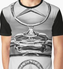 Mercedes-Benz Hood Ornament - Emblem -467bw Graphic T-Shirt