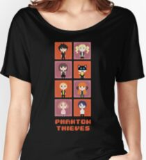 Pixel Phantom Thieves - Persona 5 Women's Relaxed Fit T-Shirt