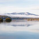 Mist Wagonga Inlet by Brett Thompson