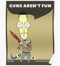 Guns Aren't Fun. Rick and Morty in CSGO! Poster