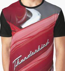 1956 Ford Thunderbird Taillight Emblem -0144c Graphic T-Shirt