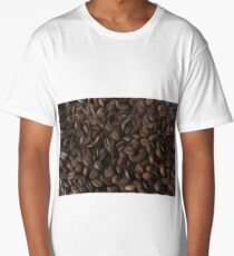 Coffee beans oil painting effect Long T-Shirt