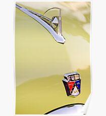 1950 Ford Hood Ornament - Emblem -0350c Poster