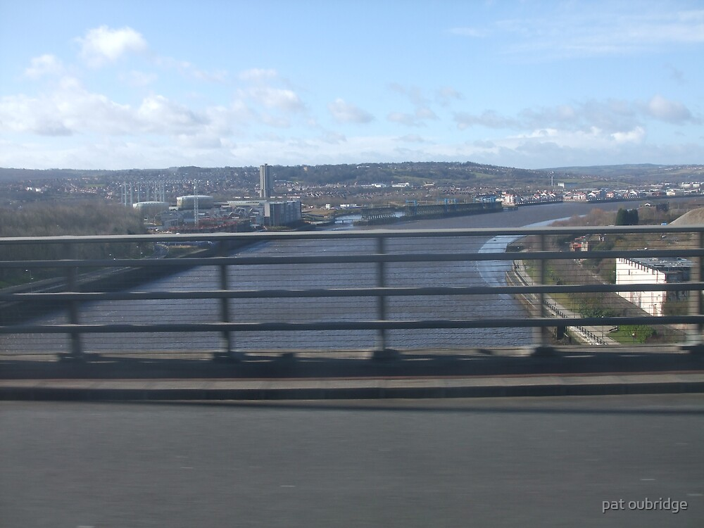 Crossing the River Tyne by pat oubridge