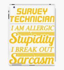 survey technician iPad Case/Skin
