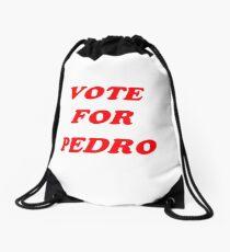 vote for pedro Drawstring Bag