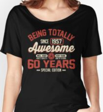 Born in 1957 Women's Relaxed Fit T-Shirt