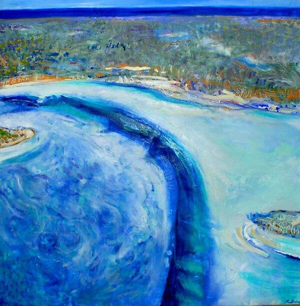 Over Shark Bay by becstar75