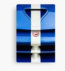 1998 Dodge Viper GTS-R Grille Emblem -1289c Canvas Print