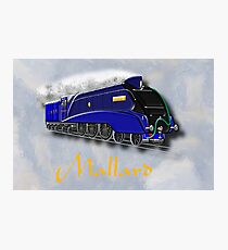 Mallard the Steam Locomotive Photographic Print