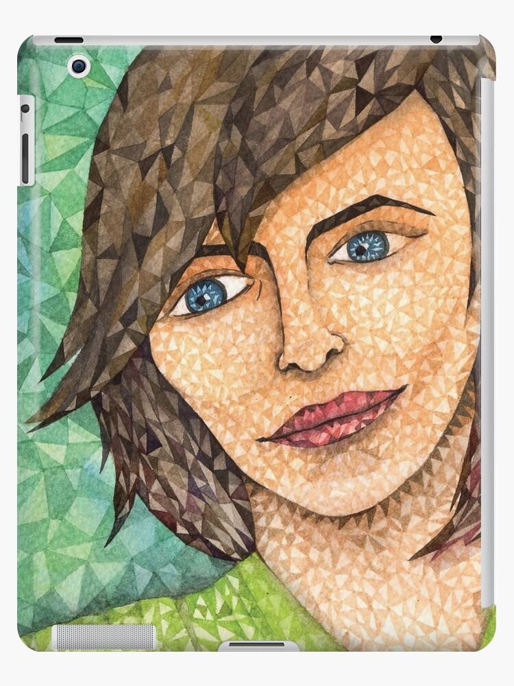 Girl in Green by Kalatirth