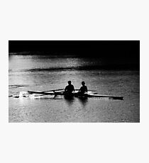 """The Scullers"" Photographic Print"