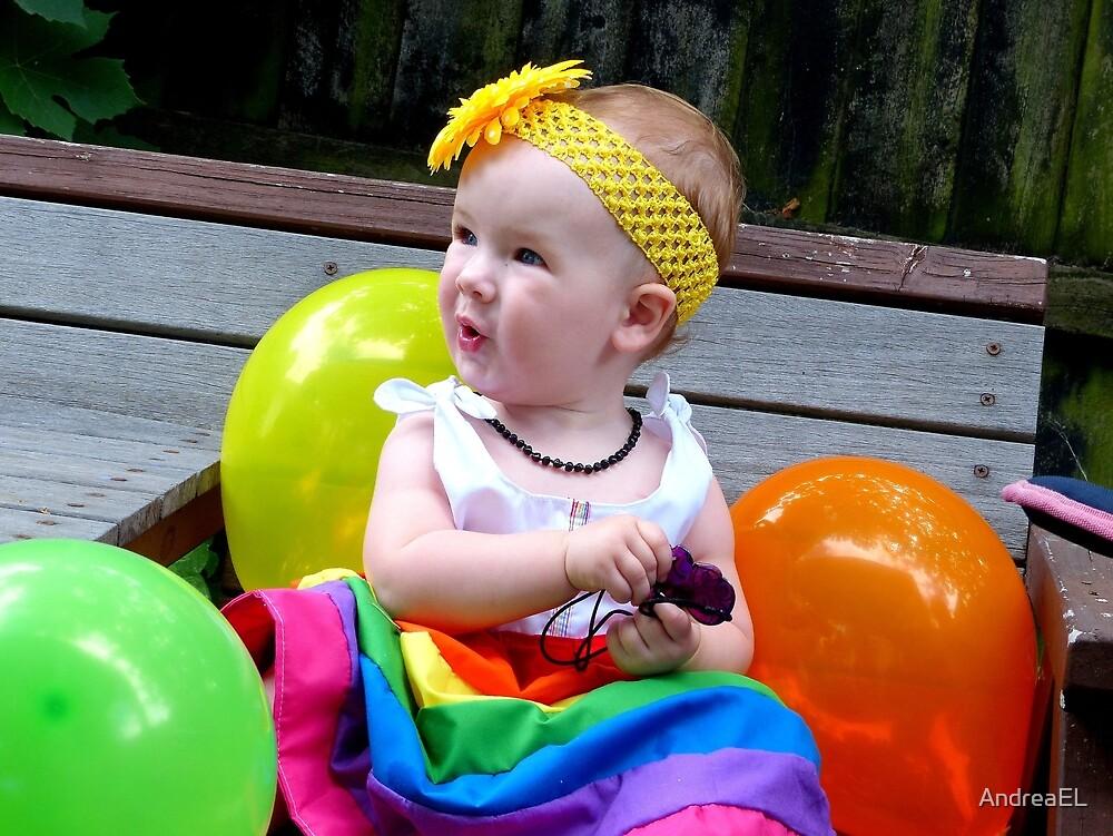 Rainbow Birthday Girl - Christchruch by AndreaEL