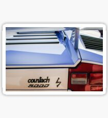 1982 Lamborghini Countach 5000S Taillight Emblem -0453c Sticker